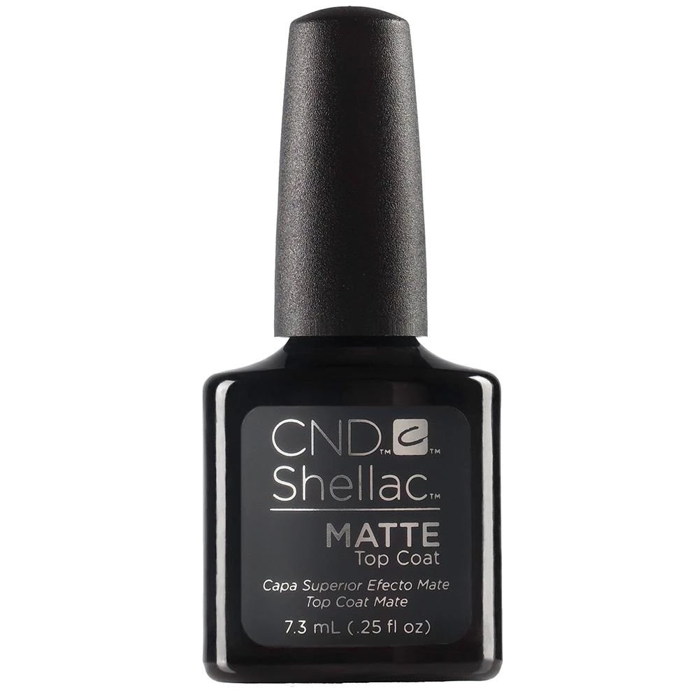 Bottle of .25oz Shellac Matte Top Coat