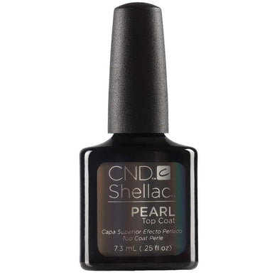 Bottle of .25oz Shellac Pearl Top Coat