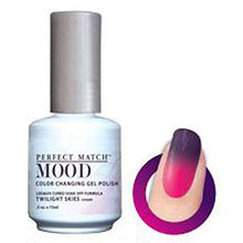 Load image into Gallery viewer, Bottle of Lechat Twilight Skies Gel Mood Polish