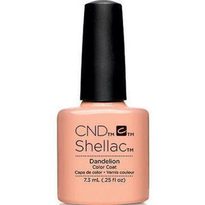 Bottle of Shellac Dandelion Gel Polish .25oz