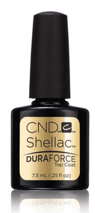 Bottle of .25oz Shellac Duraforce Top Coat