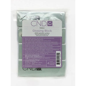 CND Glossing Block 4 Pack
