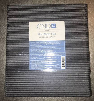 Pack of CND Hot Shot Nail Files