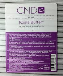 50 Pack of CND Koala Buffers