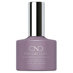 Bottle of Shellac Luxe Alpine Plum Color Coat