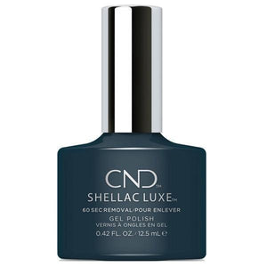 Bottle of Shellac Luxe Indigo Frock Color Coat