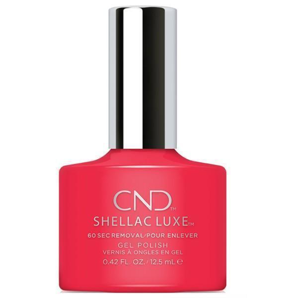 Bottle of Shellac Luxe Lobster Roll Color Coat