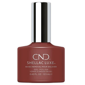 Bottle of Shellac Luxe Oxblood Color Coat