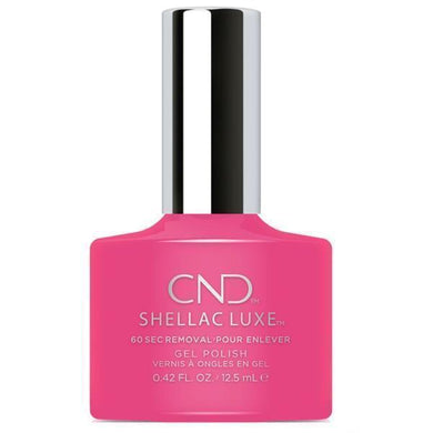 Bottle of Shellac Luxe  Pink Bikini Color Coat