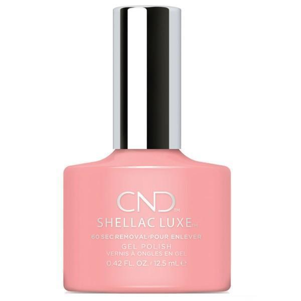 Bottle of Shellac Luxe Pink Pursuit Color Coat