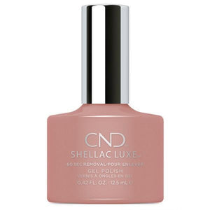 Bottle of Shellac Luxe Satin Pajamas Color Coat