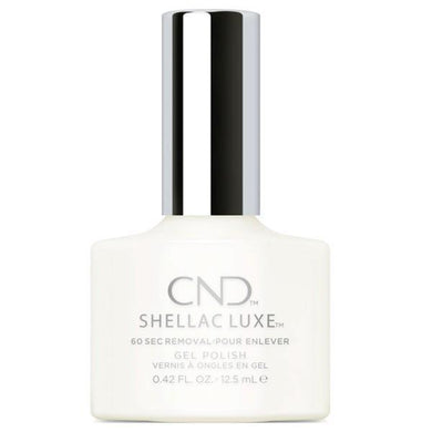 Bottle of Shellac Luxe Studio White Color Coat