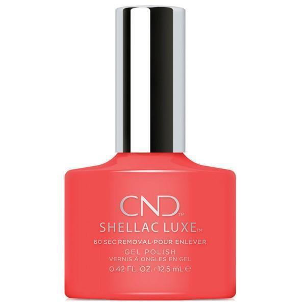 Bottle of Shellac Luxe Tropix Color Coat