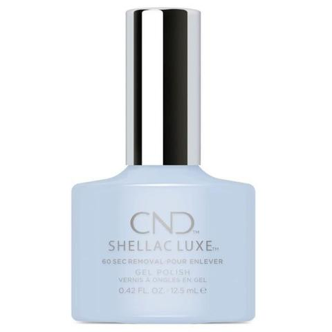 Bottle of Shellac Luxe Creekside Color Coat