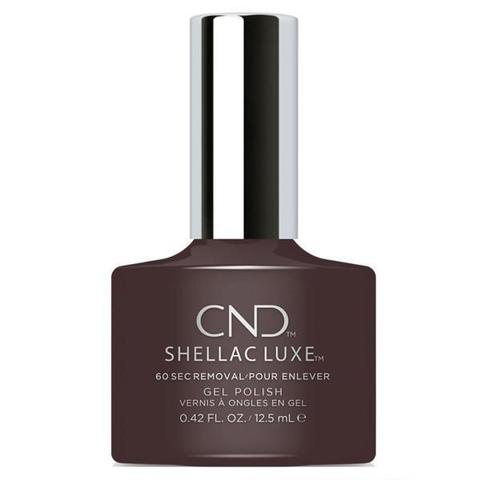 Bottle of Shellac Luxe Fedora Color Coat