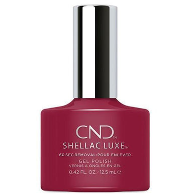 Bottle of Shellac Luxe Rouge Rite Color Coat