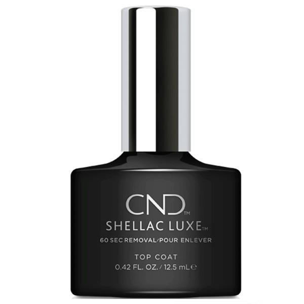 Bottle of .42oz Shellac Luxe Top Coat