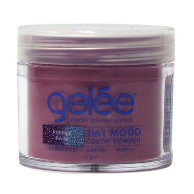 .42oz Jar of Lechat Gelee Purple Rain Mood Powder