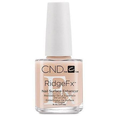 Bottle of .5oz CND RidgeFx Nail Surface Enhancer