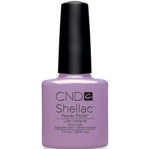 Bottle of Shellac Color Coat Lilac Longing