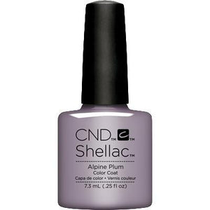 Bottle of Shellac Color Coat Alpine Plum