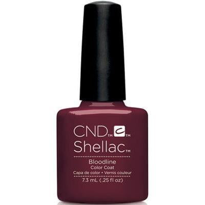Bottle of Shellac Bloodline Color Coat