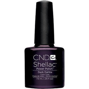 Bottle of Shellac Dark Dahlia Color Coat