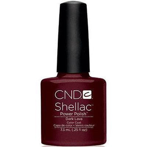 Bottle of Shellac Dark Lava Color Coat