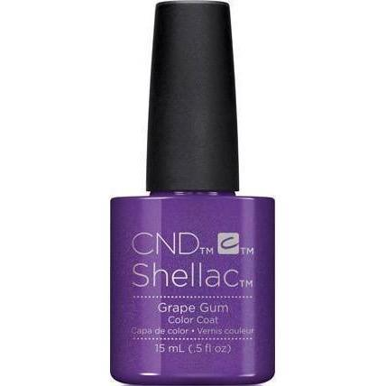 Bottle of Shellac Color Coat Grape Gum