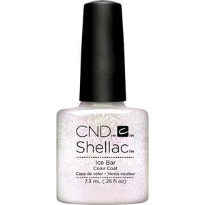 Bottle of Shellac Color Coat Ice Bar