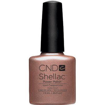 Bottle of Shellac Color Coat  Iced Cappuccino