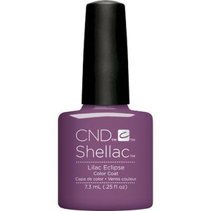 Bottle of Shellac Color Coat Lilac Eclipse