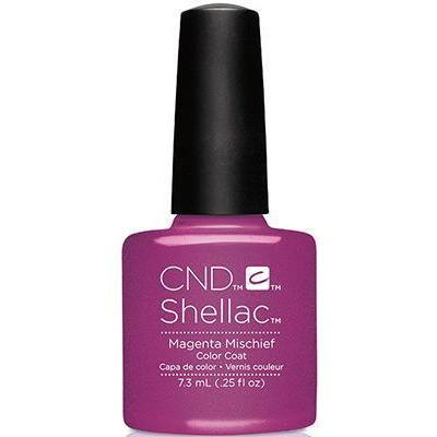 Bottle of Shellac Color Coat Magenta Mischief