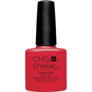 Bottle of Shellac Color Coat Mambo Beat