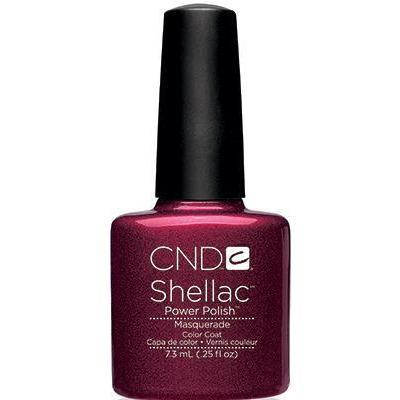 Bottle of Shellac Color Coat Masquerade