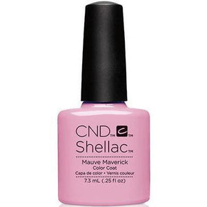 Bottle of Shellac Color Coat Mauve Maverick