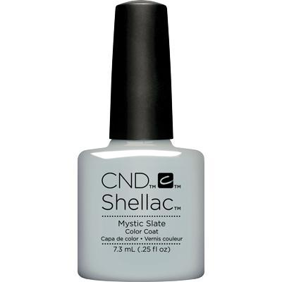 Bottle of Shellac Color Coat Mystic Slate