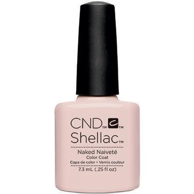 Bottle of Shellac Color Coat Naked Naivete