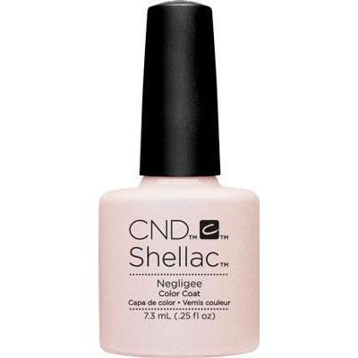 Bottle of Shellac Color Coat Negligee