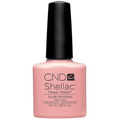 Bottle of Shellac Color Coat Nude Knickers