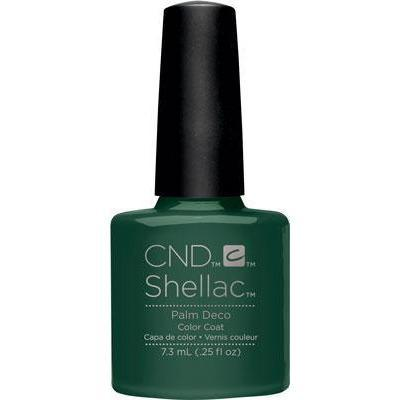 Bottle of Shellac Color Coat Palm Deco