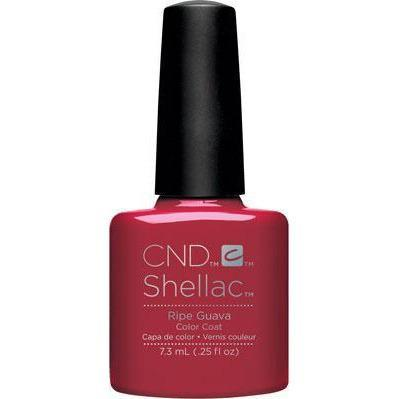 Bottle of Shellac Color Coat Ripe Guava