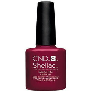 Bottle of Shellac Color Coat Rouge Rite
