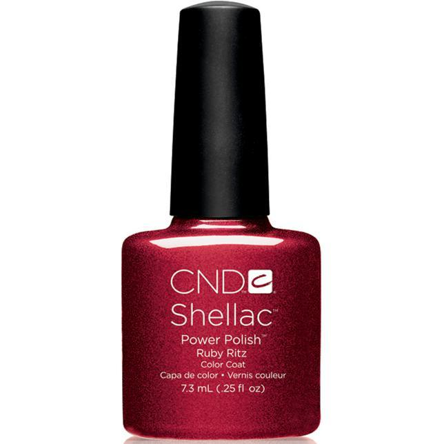 Bottle of Shellac Color Coat Ruby Ritzt