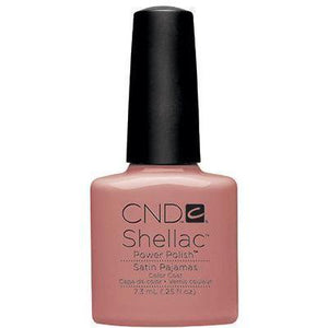 Bottle of Shellac Color Coat Satin Pajamas