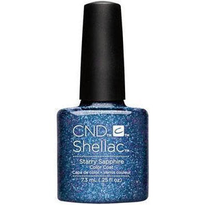 Bottle of Shellac Color Coat Starry Sapphire