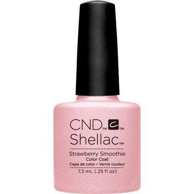 Bottle of Shellac Color Coat Strawberry Smoothie