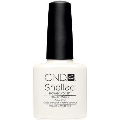 Bottle of Shellac Color Coat Studio White