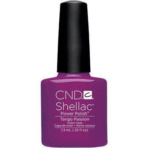 Bottle of Shellac Color Coat Tango Passion