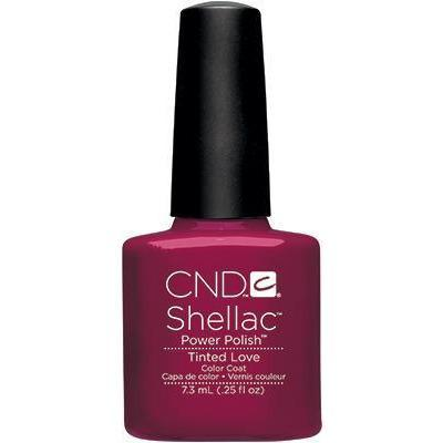 Bottle of Shellac Color Coat Tinted Love